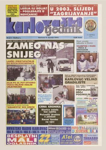 Karlovački tjednik: 2003 • 02