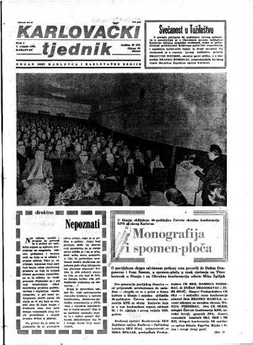 Karlovački tjednik: 1985 • 5