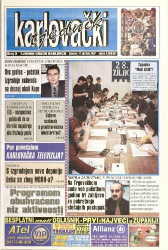 Karlovački tjednik: 2001 • 2
