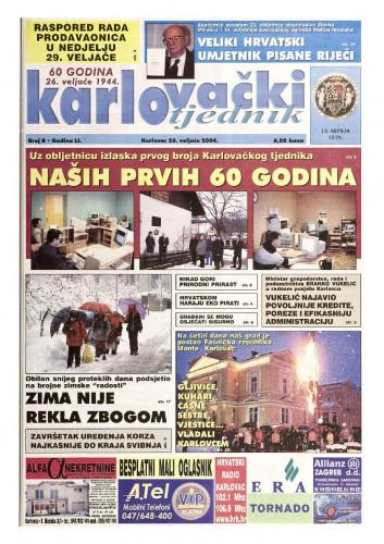 Karlovački tjednik: 2004 • 8