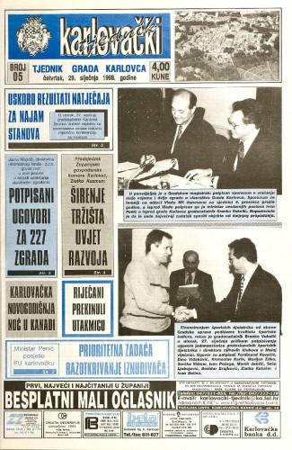 Karlovački tjednik: 1998 • 5