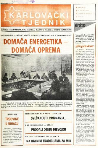 Karlovački tjednik: 1988 • 10