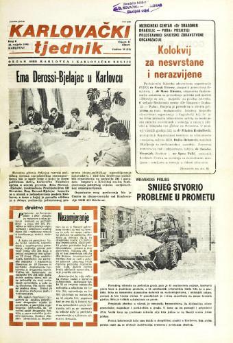 Karlovački tjednik: 1986 • 6