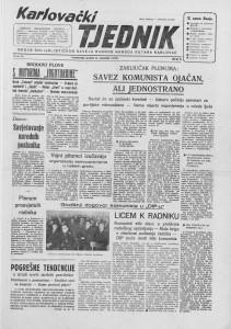Karlovački tjednik: 1957 • 06