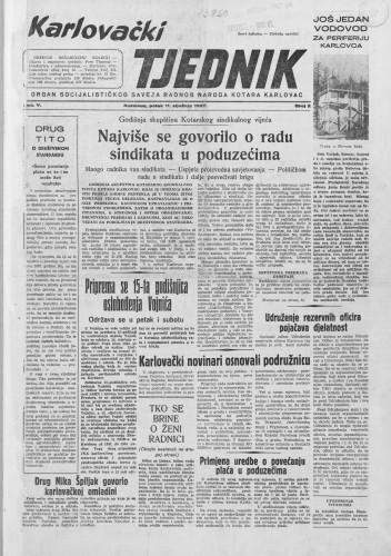 Karlovački tjednik: 1957 • 02