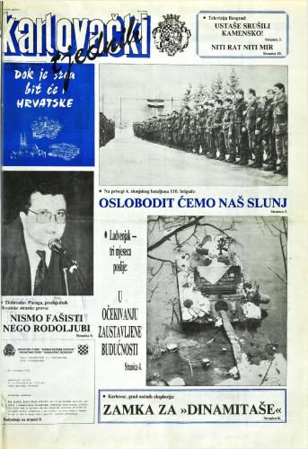 Karlovački tjednik: 1992 • 5
