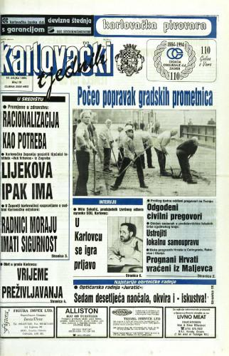 Karlovački tjednik: 1994 • 10
