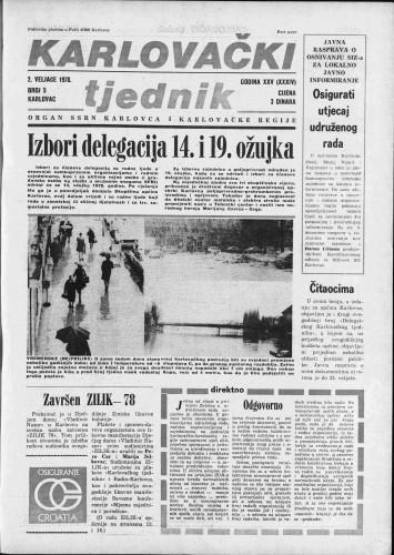 Karlovački tjednik: 1978 • 5