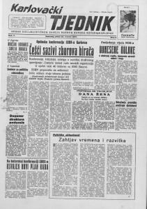 Karlovački tjednik: 1957 • 08