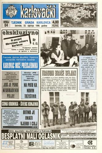 Karlovački tjednik: 1998 • 4