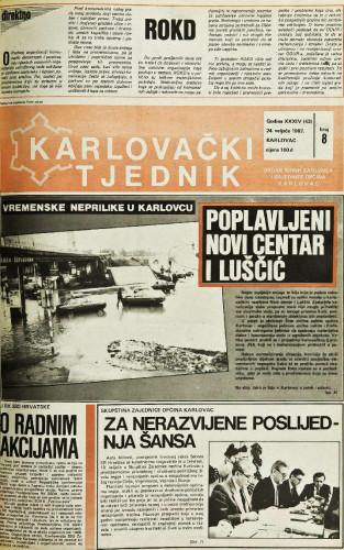 Karlovački tjednik: 1987 • 8