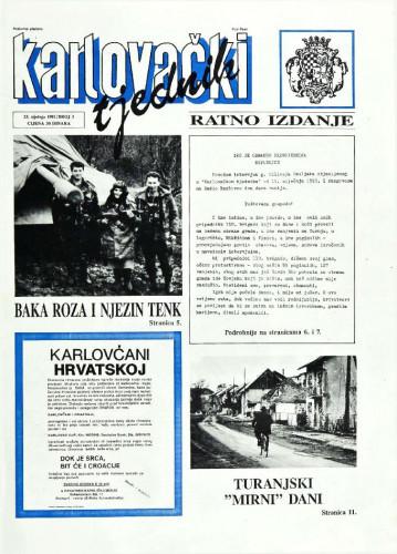 Karlovački tjednik: 1992 • 3