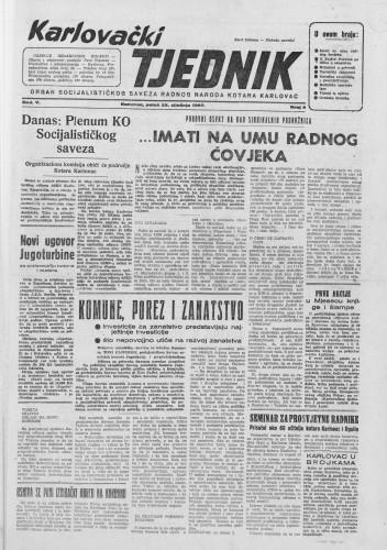 Karlovački tjednik: 1957 • 04