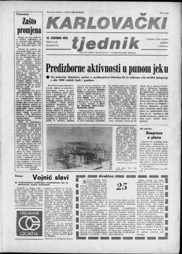 Karlovački tjednik: 1978 • 1