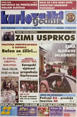 Karlovački tjednik: 2002 • 3