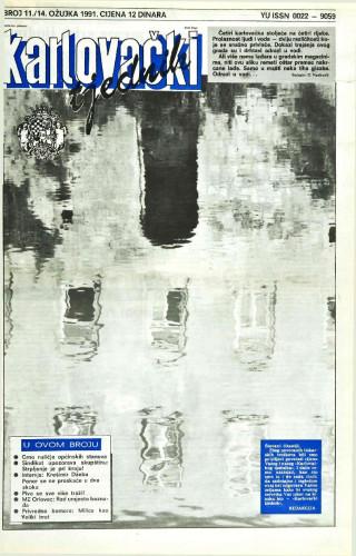 Karlovački tjednik: 1991 • 11