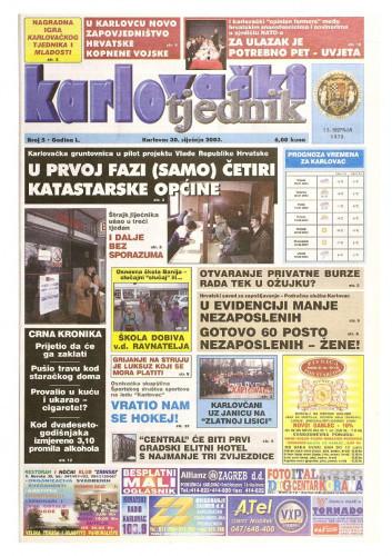 Karlovački tjednik: 2003 • 05