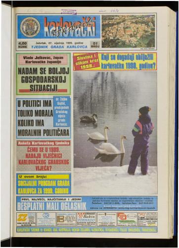 Karlovački tjednik: 1999 • 1