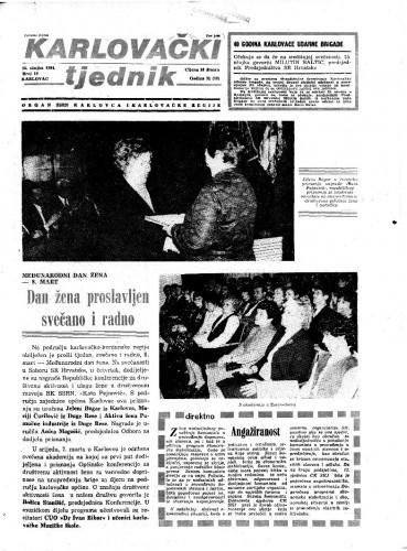 Karlovački tjednik: 1984 • 10