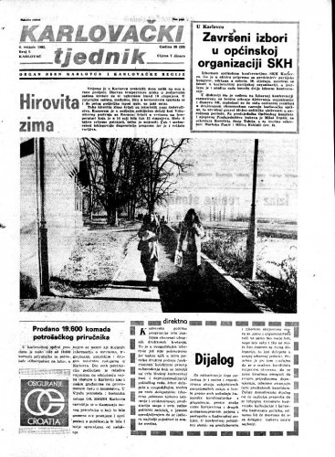 Karlovački tjednik: 1982 • 5