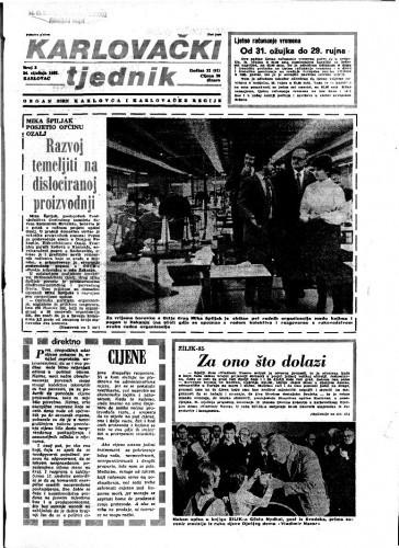 Karlovački tjednik: 1985 • 3