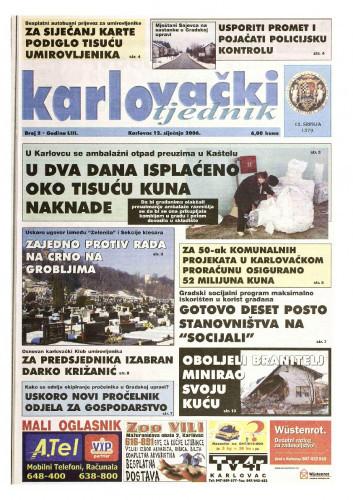 Karlovački tjednik: 2006 • 2