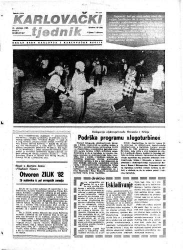 Karlovački tjednik: 1982 • 3