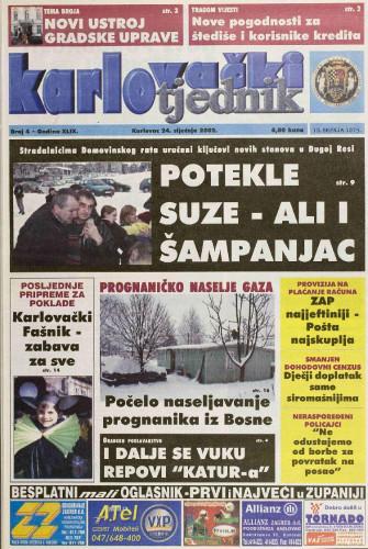 Karlovački tjednik: 2002 • 4