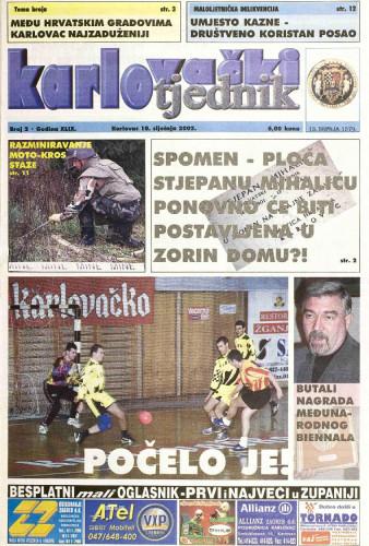 Karlovački tjednik: 2002 • 2