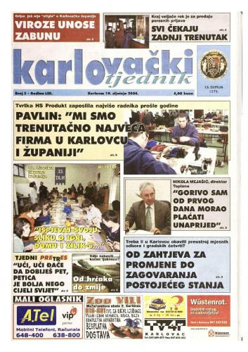 Karlovački tjednik: 2006 • 3