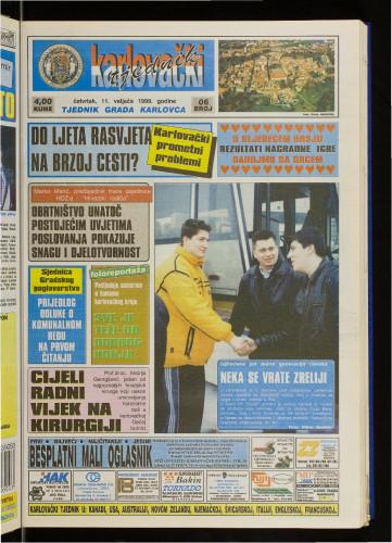 Karlovački tjednik: 1999 • 6